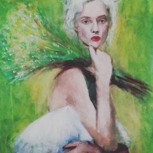 MariadelRoxo_FairiesandWitches_AcrylicPainting_Portrait_5