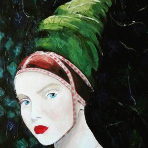 MariadelRoxo_FairiesandWitches_AcrylicPainting_Portrait_6