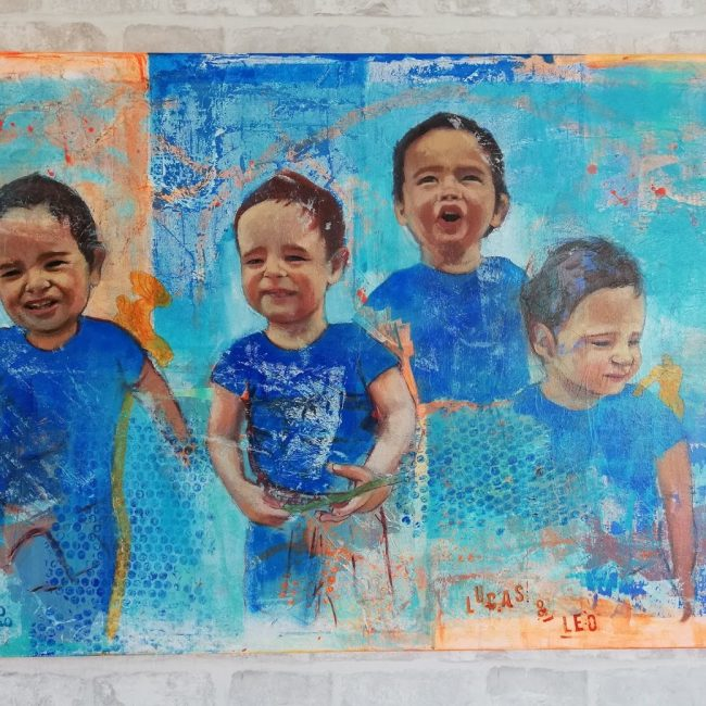 arte-maria-del-roxo-tecnica-mixta-acrilico-gran-formato-mellizos-contemporaneo-alegra-decoracion-infantil