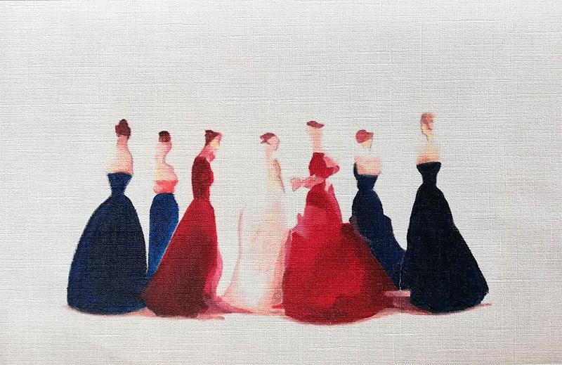 arte-maria-del-roxo-figurativo-abstracto-el-baile-the-ball-femenino-delicado