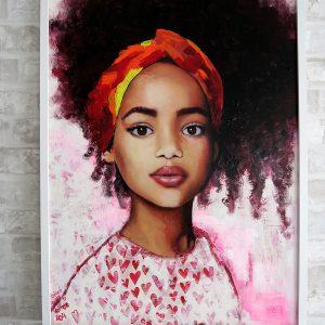 pintura-arte-contemporaneo-retrato-asturias-color-tecnica-mixta-collage-acrilico-óleo-united-colors